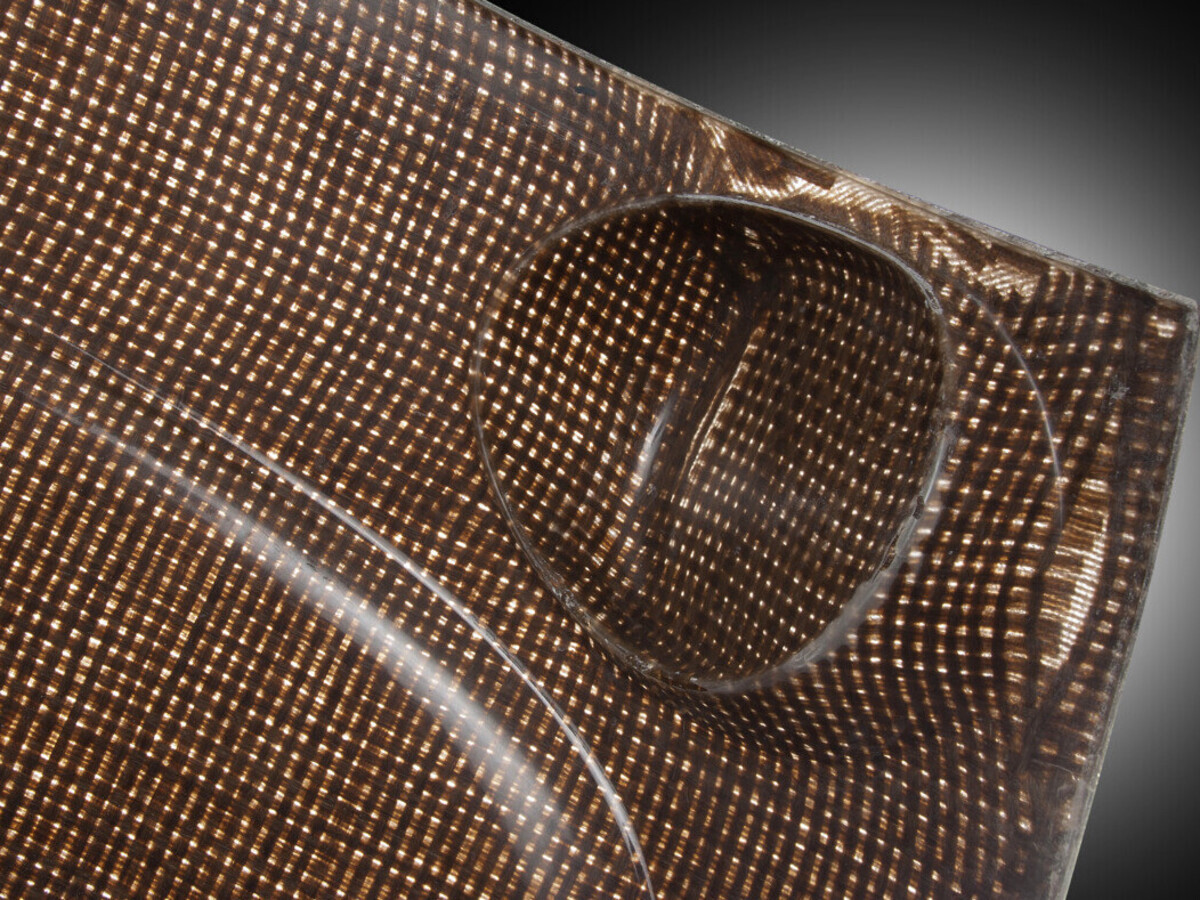 Composite materials, lighter than traditional materials